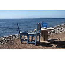 Take a Seat! Photographic Print