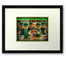 Happy Saint Patrick's Day Framed Print
