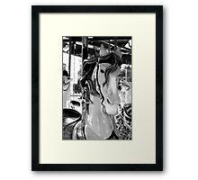carousel 9 Framed Print
