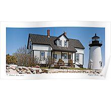 Prospect Harbor Light Poster