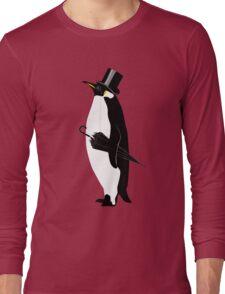 A Well Dressed Villain Long Sleeve T-Shirt