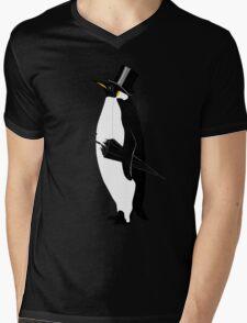 A Well Dressed Villain Mens V-Neck T-Shirt