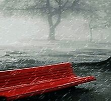 April Showers by Rick Wollschleger