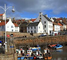 Crail Harbour, Fife, Scotland by ScotLandscapes