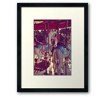 carousel 12 Framed Print