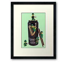 Guinness Makes A St Patricks Day ! Framed Print