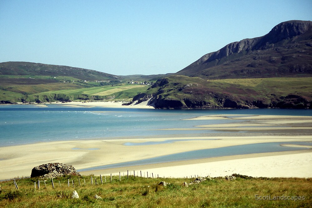 Melness Sands, Sutherland, Scotland by ScotLandscapes