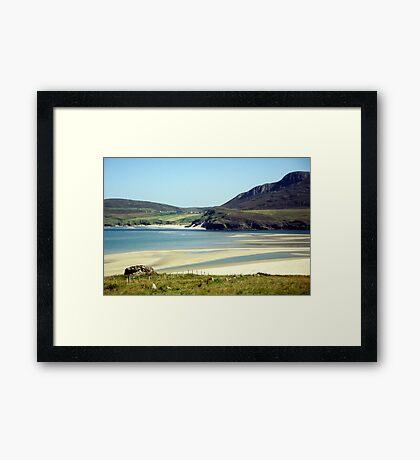 Melness Sands, Sutherland, Scotland Framed Print