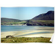Melness Sands, Sutherland, Scotland Poster