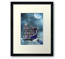 When The Moon Cries  Framed Print