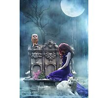 When The Moon Cries  Photographic Print