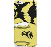 Fist with a swirly thing under it. iPhone Case/Skin