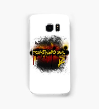 Moriarty was real (fire) Samsung Galaxy Case/Skin