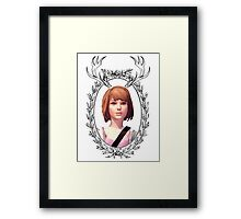 Max Portrait (Transparent) - Life is Strange Framed Print