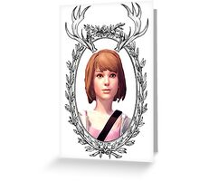 Max Portrait (Transparent) - Life is Strange Greeting Card