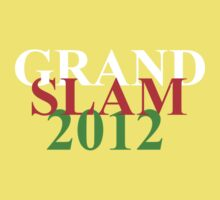 Wales Grand Slam 2012 words Kids Tee