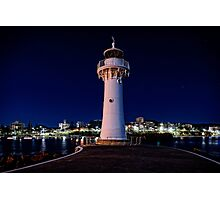 Wollongong Breakwater Lighthouse Photographic Print