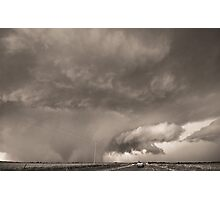 Oklahoma Twister- Black and White Photographic Print