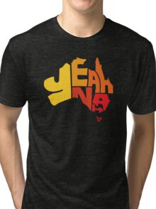 Yeah Nah (Australia) Tri-blend T-Shirt
