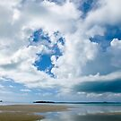 reflected clouds by Anne Scantlebury