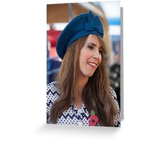 Alex Jones from the One Show in Brighton Greeting Card