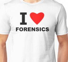 I Love Forensics Unisex T-Shirt