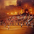 MASSED PIPE BANDS - EDINBURGH TATTOO..............! by Roy  Massicks