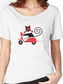 Hellcat loves his Vespa Women's Relaxed Fit T-Shirt