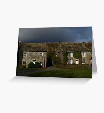 Arncliffe Cottages Greeting Card