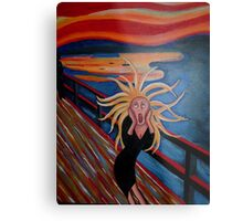 The Scream Metal Print