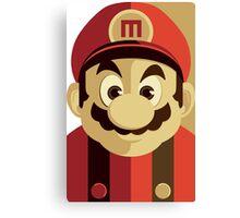 Mario Passport Snap Canvas Print