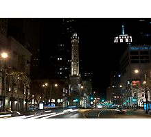 Chicago Water Tower Photographic Print