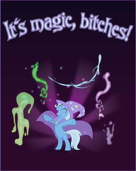 It's MAGIC! with text by Stinkehund