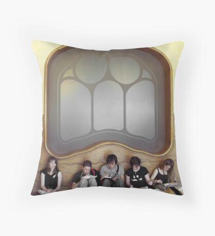 I Love Barcelona 8 Throw Pillow