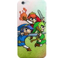 Triforce Heroes Legend of Zelda iPhone Case/Skin