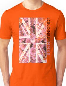 London 2012 - Londinium MMXII Union Jack Floral Unisex T-Shirt