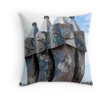 I Love Barcelona 17 Throw Pillow