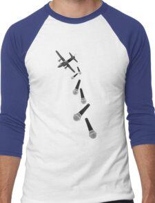 Droppin' Lyrics Men's Baseball ¾ T-Shirt