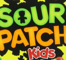 Sour Patch Kids candy package front Sticker