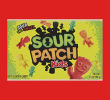 Sour Patch Kids candy package front One Piece - Short Sleeve