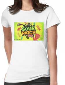 Sour Patch Kids candy package front Womens Fitted T-Shirt