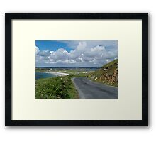 The Road to Maghery Framed Print