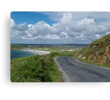 The Road to Maghery Canvas Print