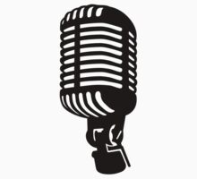 Microphone singer by Designzz