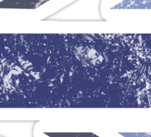 London 2012 - Londinium MMXII Union Jack Blue Sticker
