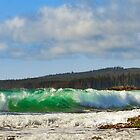 EMERALD WAVES by Sandy Stewart