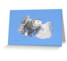 Heaven restores you in life Greeting Card