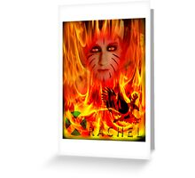 RACHEL SUMMERS UXM the series Greeting Card