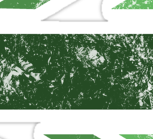 London 2012 - Londinium MMXII Union Jack Green Sticker