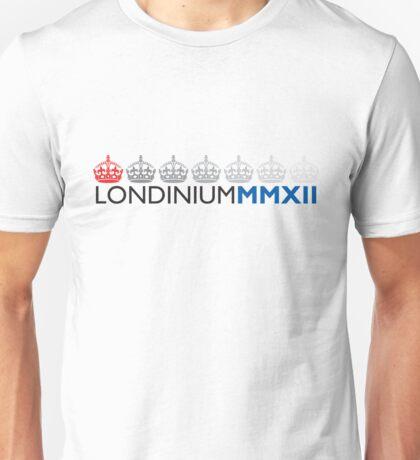 London 2012 - Londinium MMXII Crowns Unisex T-Shirt